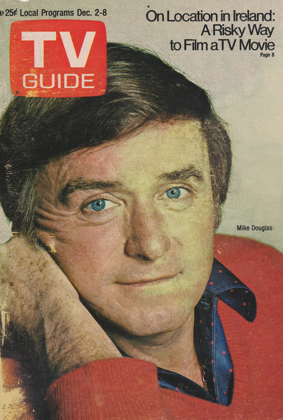 TV Guide December 2 1972 Alberta-Eastern British Columbia Edition Front Cover