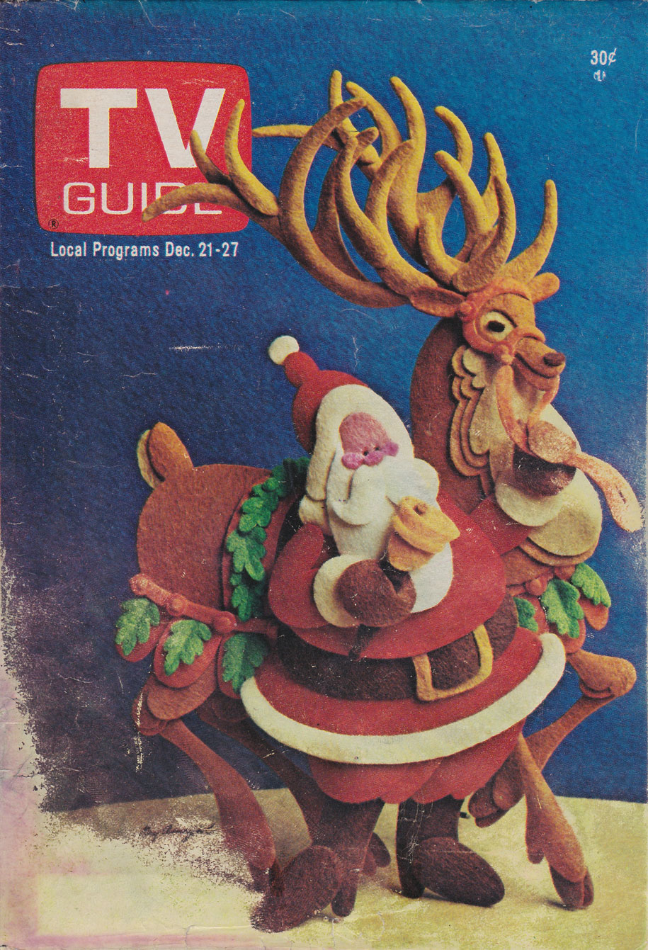 TV Guide December 21 1974 Toronto-Lake Ontario Edition Front Cover