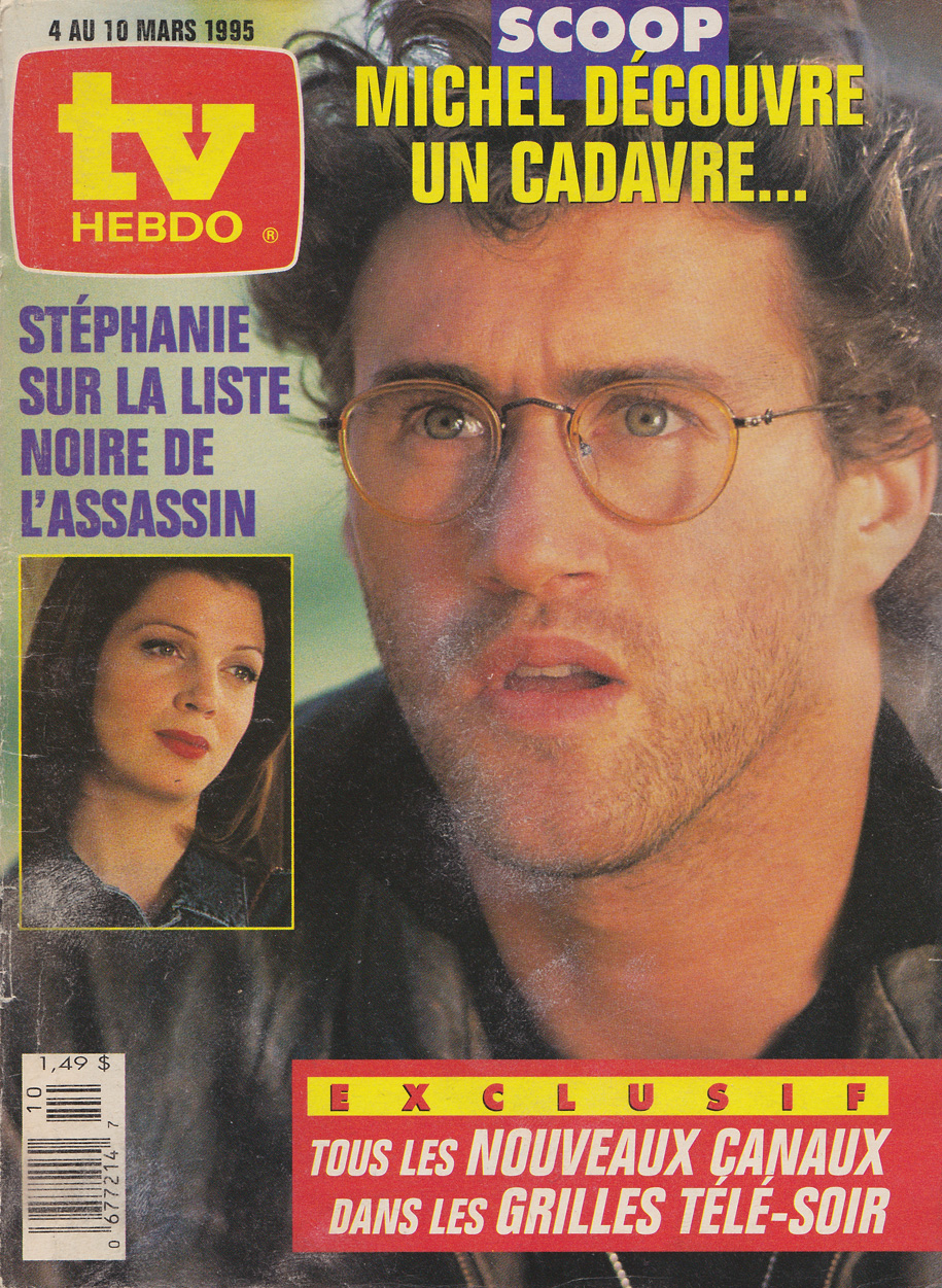 TV Guide March 4 1995 TV Hebdo Édition Nationale Front Cover